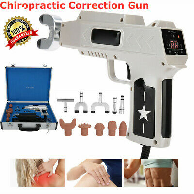 Electric Chiropractic Adjusting Tool Gun Therapy Spine Correction Body Massager