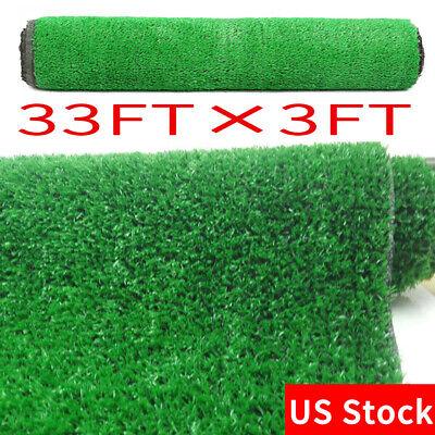 Green Artificial Fake Synthetic Grass Rug Garden Landscape Lawn Carpet Mat Turf
