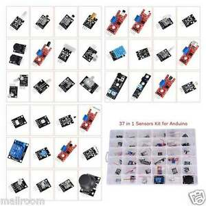 Ultimate 37 in 1 Sensor Module Kit Set für Raspberry Pi & Arduino& MCU Education