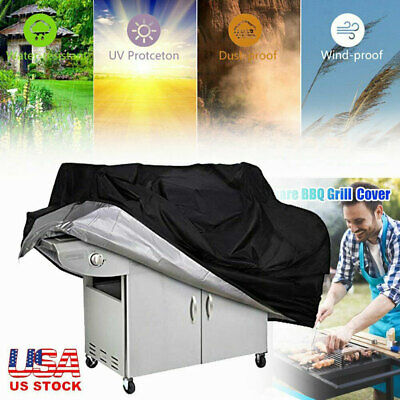 Heavy Duty BBQ Grill Cover Gas Barbecue Cover Outdoor Waterproof 57