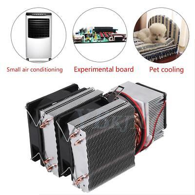 12v Semiconductor Cooler Refrigeration Air Cooling Device System Mini Fridge Lj