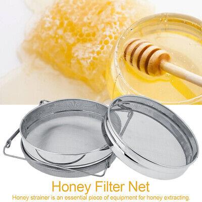 Beekeeping Double Honey Sieve Strainer Extractor Filter Mesh Screen Equipment