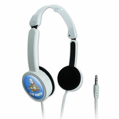 Sub Woofer Dog Submarine Funny Humor Travel Portable On-Ear Foldable Headphones