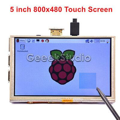 5 Inch 800x480 Hdmi Tft Lcd Touch Screen For Raspberry Pi 32 Model B B A B