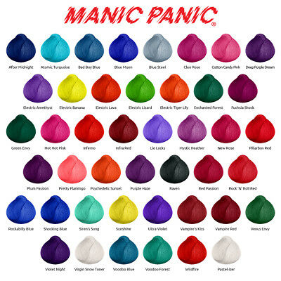 Manic Panic High Voltage Classic Semi Permanente Haarfarbe Tnung Vegan Haartnung