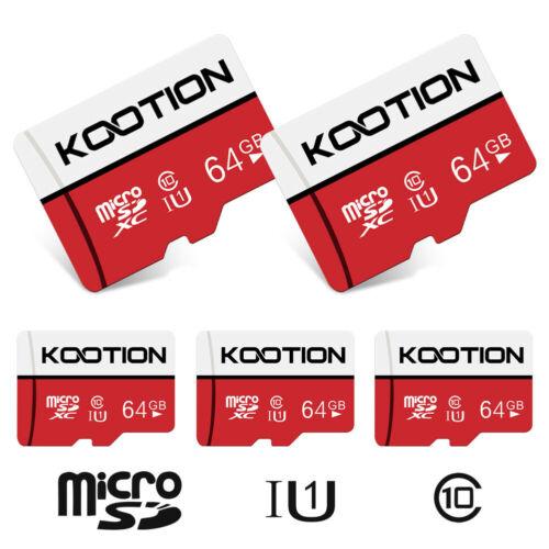 2pcs 64GB Micro SD Card SDXC U1 C10 TF Card Memory Cards for