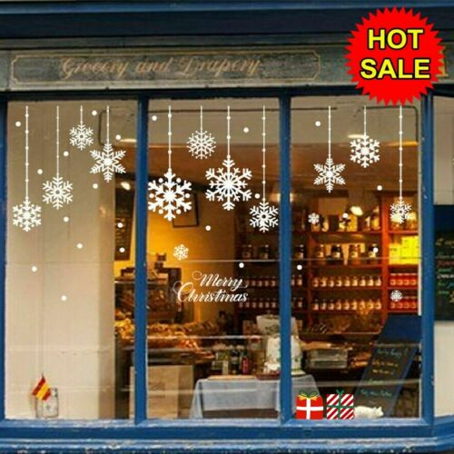 Home Decoration - Merry Christmas Vinyl Home Window Store Wall Stickers Decal Decor Removable UK