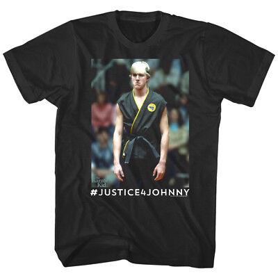 Johnny Karate Kid (Karate Kid Cobra Kai Justice 4 Johnny Lawrence Men's T-Shirt William Zabka)