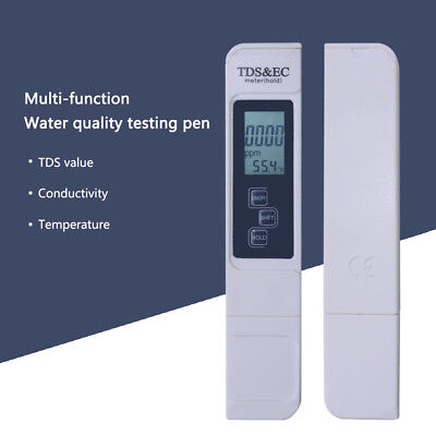 Best Water Quality TDS&EC Test LCD Screen Accurate Reliable Water Test Meter