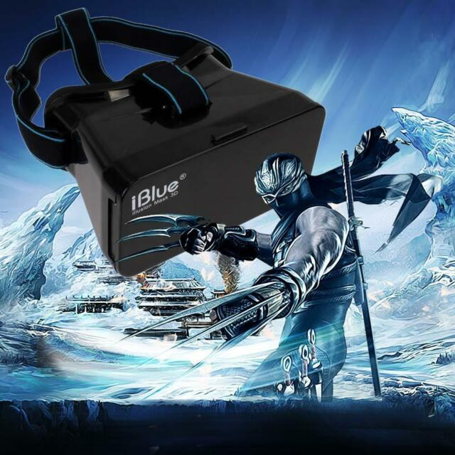 3D Virtual Reality VR Video Glasses for iPhone 6 plus 5S S5 Google Cardboard RF