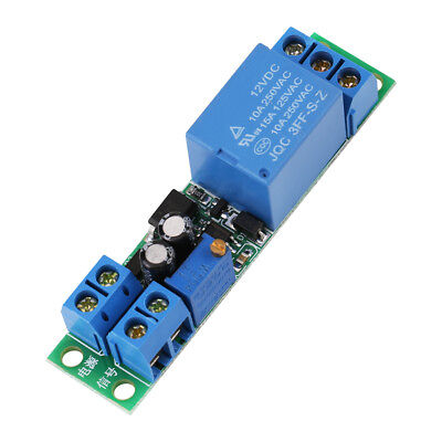 Dc12v Adjustable Signal Trigger Turn Off Delay Timer Switch Relay Module Safety