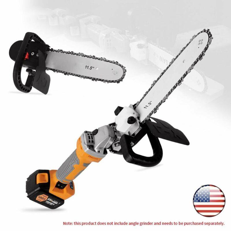 "11.5"" Electric Chainsaw Stand Adaptor Bracket Wood Cut Grinder Refit Chain Saw"
