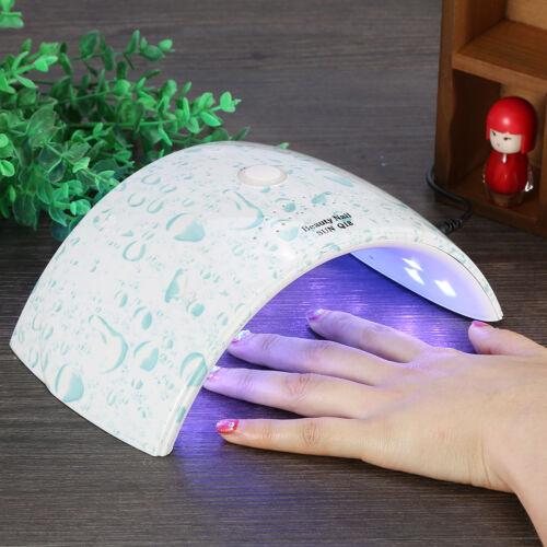 US 36W/48W UV Led Light Nail Dryer Gel Polish Curing Lamp Au