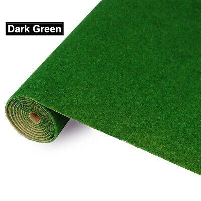 0.4mX1m Model Grass Mat Dark Green Artificial Lawn Turf Carpet - Green Grass Mats