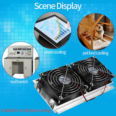 120w Diy Dual Core Semiconductor Refrigerator Air Conditioner Cooling Equipment