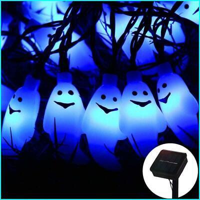 Halloween Ghost String Lights, ZALALOVA 21.3ft 30 LEDs Ghost Lights Decor