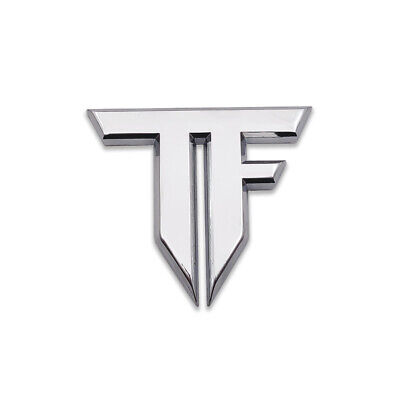 Silver Transformers Logo Emblem Autobots Badge 3D Metal Sticker Sport Car Decal