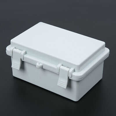 Waterproof IP65 ABS Project Enclosure Case Wiring Junction Box 200x120x75mm GB