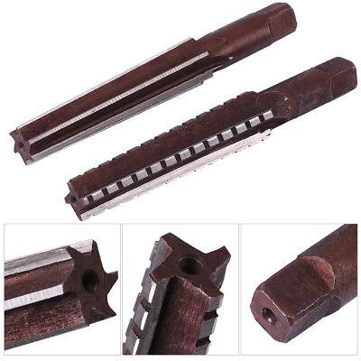 2pc Hss Mt2 Taper Finerough Reamer Cutter Tool Set Straight Shank 1.5x12.5cm Is