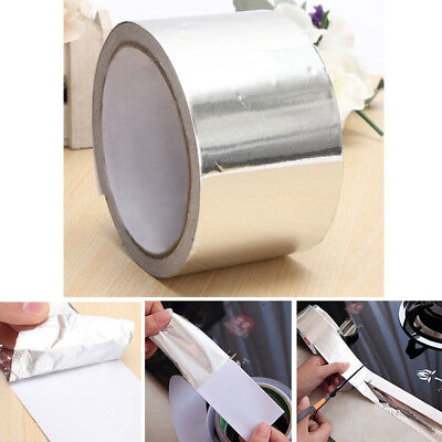 Aluminium Foil Tape 50m Big Roll Self Adhesive Insulation Reflective Foil Tape