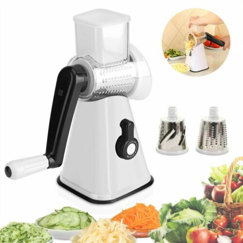Home Stainless Steel Mandoline Slicer 3 Blades Vegetable Cho