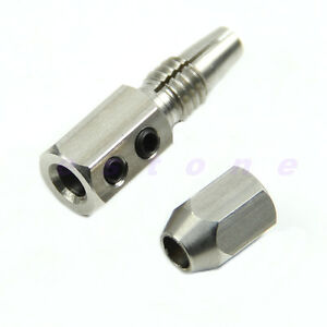 Stainless Steel Flex Collet Coupler For 5mm Motor Shaft And 4mm Cable RC Boat WQ