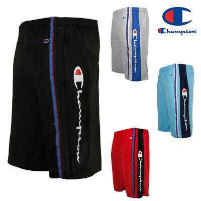 Champion Men's Script Logo Athletic Basketball Gym - Logo Gym Shorts