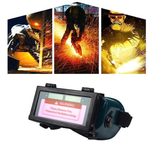 Automatik Schweißerschutzbrille Schweißerbrille Schutzbrille Solar Dunkelgrün DE