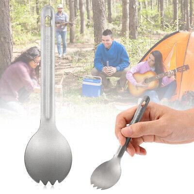 """Kizer Cutlery T307 Titanium 3.88/"""" Camping Utensil w// Spork /& Bottle Opener"""
