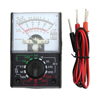 Electric Acdc Ohm Voltmeter Ammeter Multi Tester Mf-110a Multimeter New