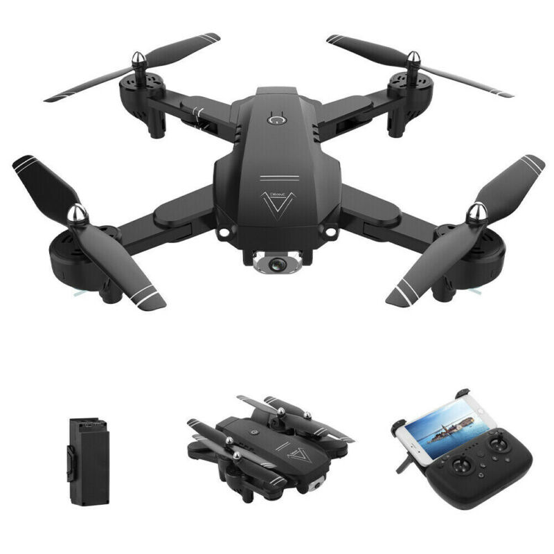 Utility RC Drones L103 2.4G & 1080P HD Camera GPS WIFI FPV Foldable Quadcopter