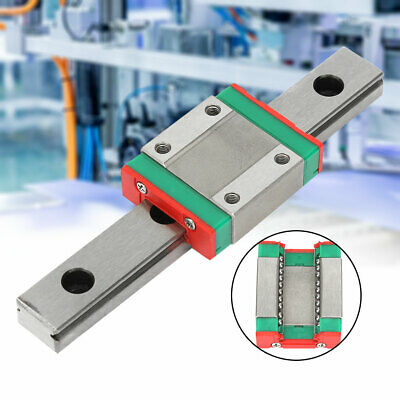 Lml12b Bearing Steel Miniature Linear Rail Guide 100mm Length Slide Block