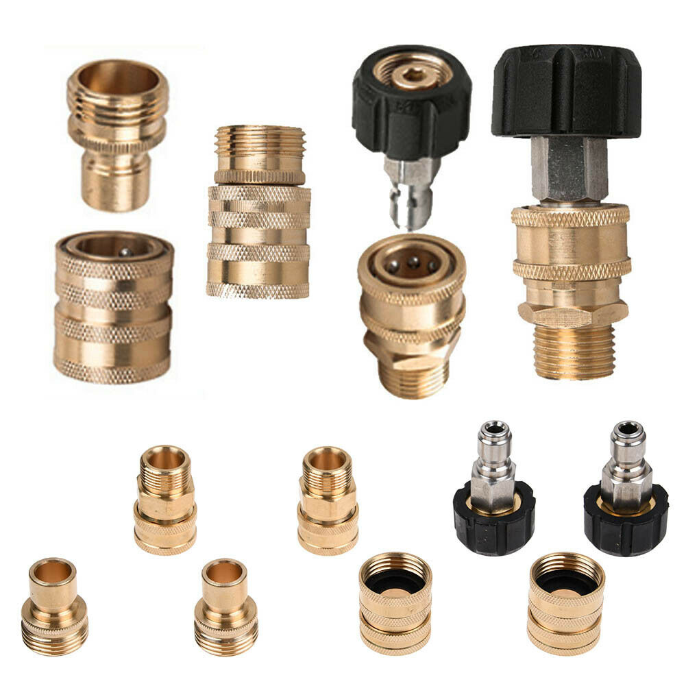 """3//8/"""" Quick Connect by M22 Male Coupler Pressure Washer Fitting"""