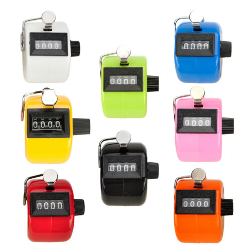 GOGO ABS Handheld Tally Counter, 4 Digit Display Clicker, for Sport Events Coach