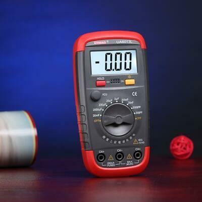 New Ua6013l Digital Auto Range Capacitor Capacitance Tester Meter Lj