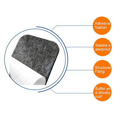 50Pc Strong Double Sided Foam Tape Home Adhesive Wall Mounting Round Square Pad Adhesives & Tape