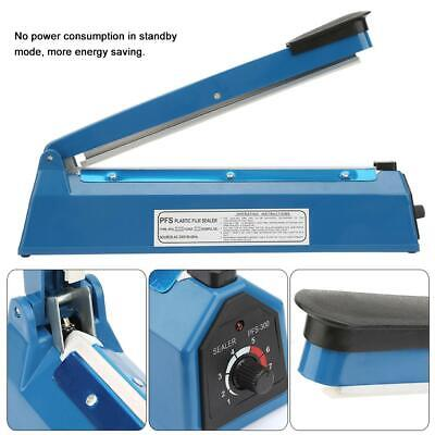812inch Heat Sealing Impulse Manual Sealer Machine Kit For Pepp Plastic Bags