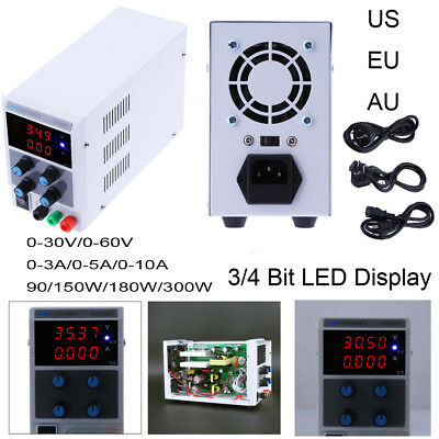 Adjustable Digital Regulated Dc Power Supply 30v60v 3a5a10a 90w180w300w Lab