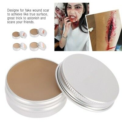 Pro Stage Halloween Party Fake Wound Scars Wax Body Nose Makeup Wax Tool 15/30g (Halloween Makeup Party)