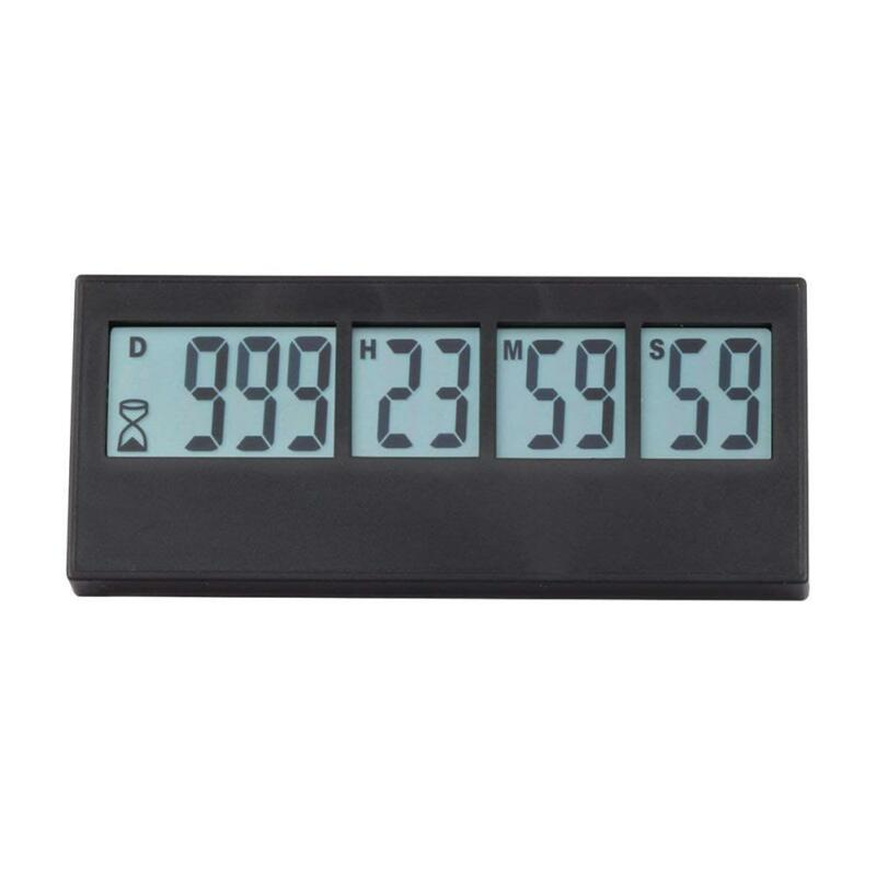 Digital Countdown Timer Clock With Alarm 999 Days 23 hours 5