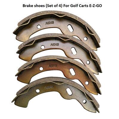 Carrito de Golf Eléctrico Acero Pastillas de Freno Traseras Zapatos for Ezgo...