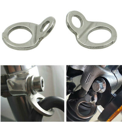 2PC Motorcycle Tie-Down Tie Down Strap Rings For DIRT BIKE Replace 3920-0341