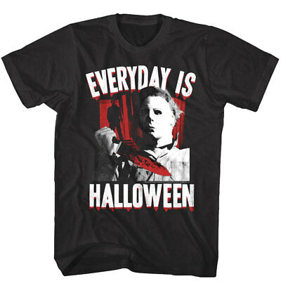 Halloween Movie Everyday is Horror Men's T Shirt Knife Scene Movie Myers Scary