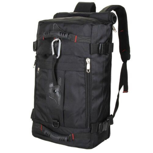 Mens Cunning Travel Gym Backpack Rucksack Satchel Camping Hiking Tote Bag Black