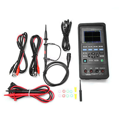 Hantek 2d42 Handheld Oscilloscope 40mhz 250msas Signal Generator Multimeter Dmm