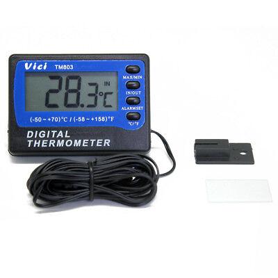 A803 Fridge Freezer Thermometer 2 Sensors C F 1c 3m Cable Length Min Max