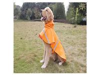 Brand new doggy raincoat