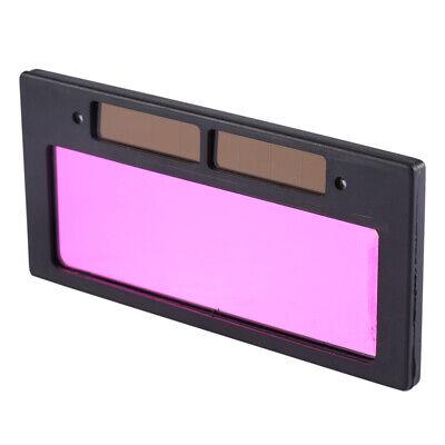 High Clear LCD Solar Automatic Darkening Welding Helmet Lens Filter Shade Light