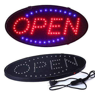 Ultra Bright Led Neon Light Animated Motion With Onoff Open Business Sign Ab12