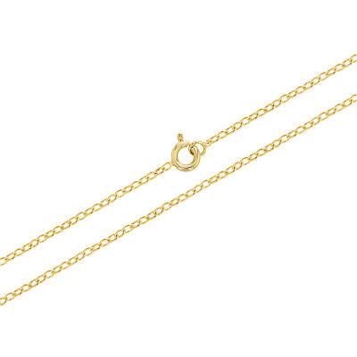 18k Gold Plated Guardian Angel Pendant Necklace Kids Girls Children CZ 16